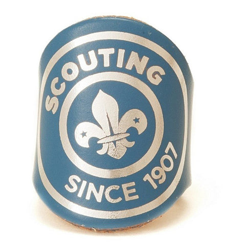 WOGGLE - SCOUTING SINCE 1907 HERITAGE LOGO - BLUE - LEADERS ONLY