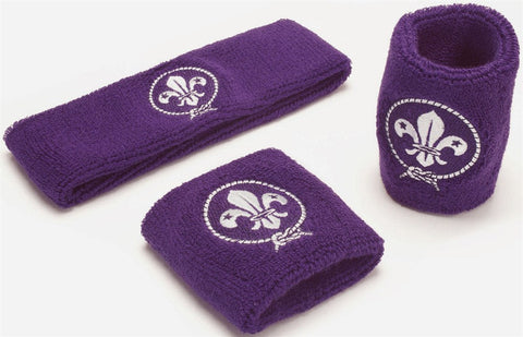 WORLD SCOUT SWEATBAND AND WRISTBANDS - (Set of three)
