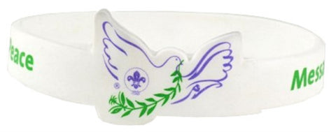 WRISTBAND - MESSENGERS OF PEACE