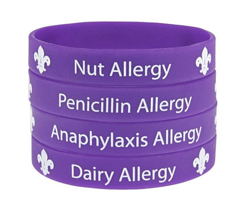 WRISTBAND - ANAPHYLAXIS ALLERGY