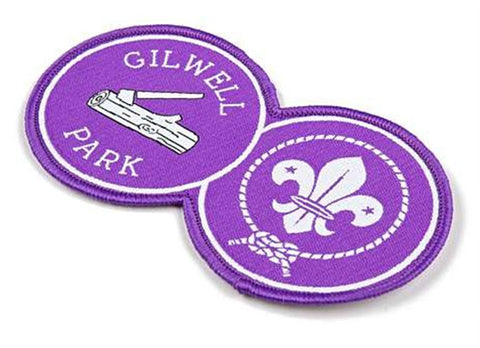 BLANKET PATCH - WORLD SCOUTS AND GILWELL PARK
