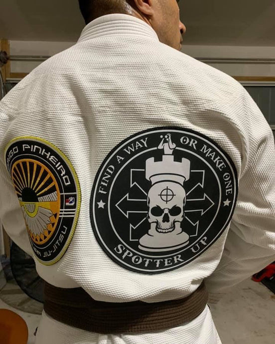 Patch BJJ Find a Way or Make One  6 Arrow High Quality 9