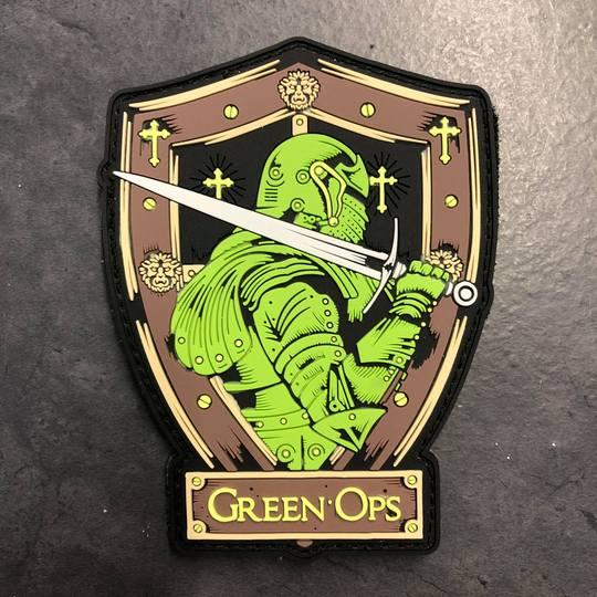 Patch Green Ops Sword