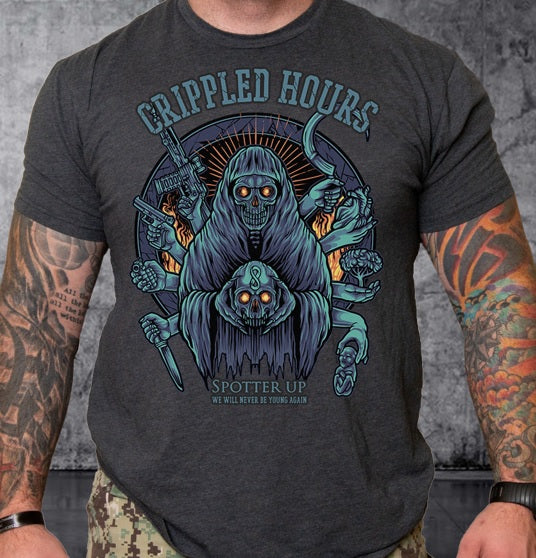T-shirt Crippled Hours - Color