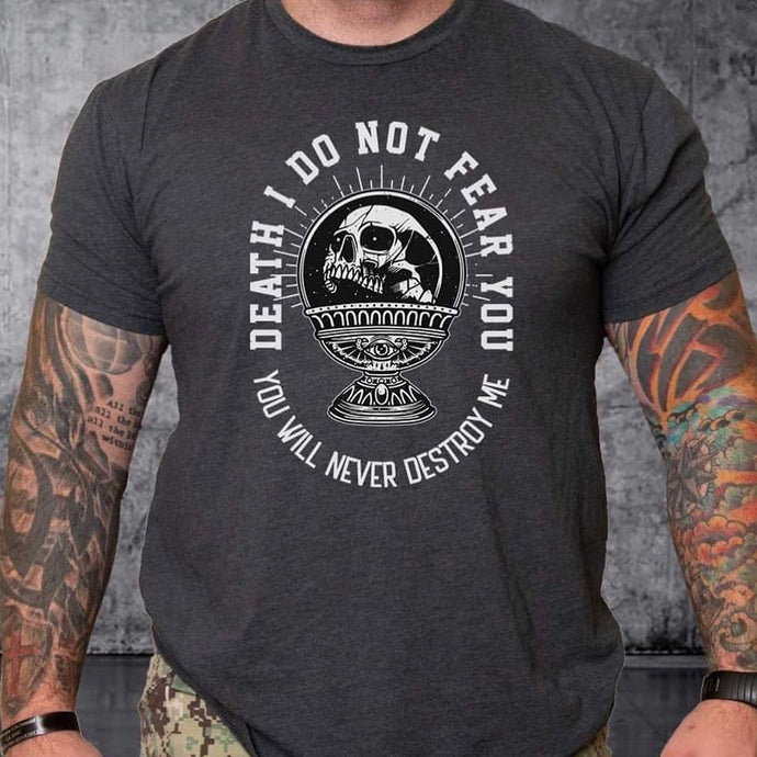 T-shirt TSF Death I do not Fear You
