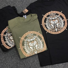 "T-shirt ""Tyger Tyger Burning Bright"" Black"