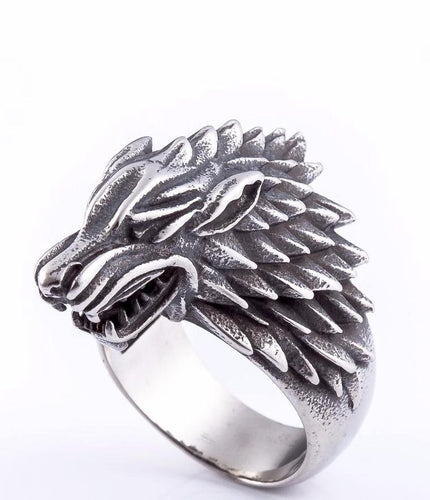 Game of Thrones Direwolf Inspired Ring