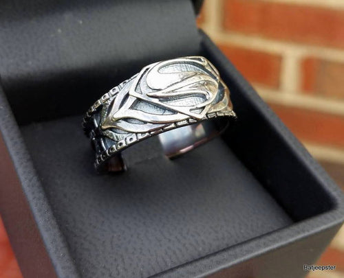 Armored Superman Ring