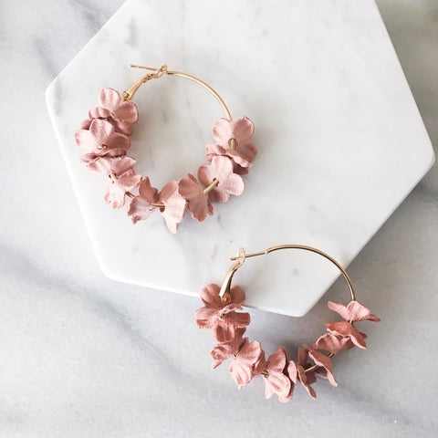 Flora Flora Hoop Earrings