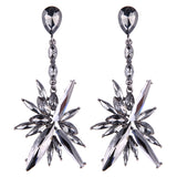 WOO LOO FASHION-Crystal Statement Earrings