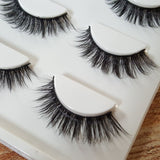 WOO LOO FASHION-False Mink Eyelashes(3 Pairs/Set)