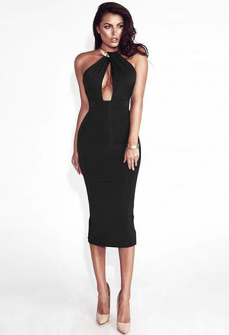 WOO LOO FASHION-Iris Bodycon Dress