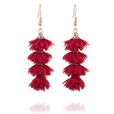 Tasha Flower Drop Earrings - 14 Colors