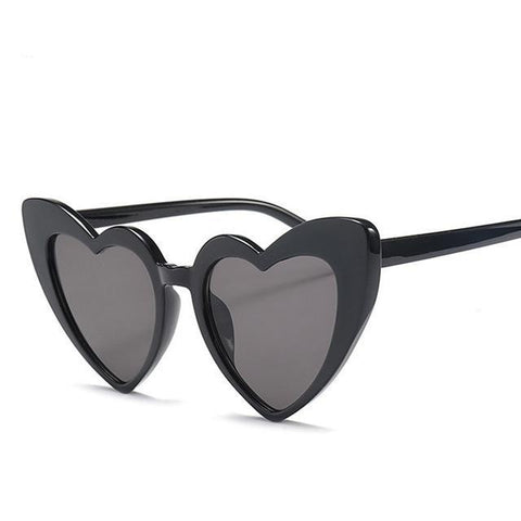 WOO LOO FASHION-Heart-shaped  Sunglasses(6 Colors)