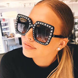 WOO LOO FASHION-Luxury Oversized Designer Sunglasses