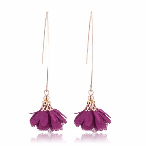 Lala Flower Drop Earrings - 15 Colors