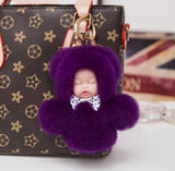 WOO LOO FASHION-Sleeping Baby Keychain/ 17colors