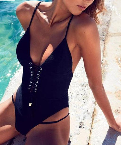 Kezo One Piece Swimsuit