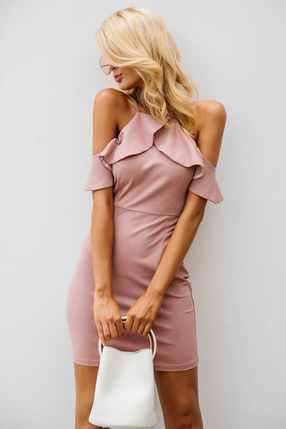 WOO LOO FASHION-Pixy Ruffle Dress