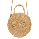WOO LOO FASHION-Nadia Straw Tote