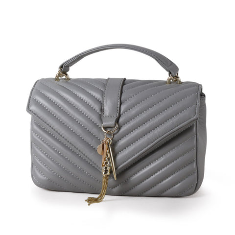 WOO LOO FASHION-Le Saint Crossbody | GREY