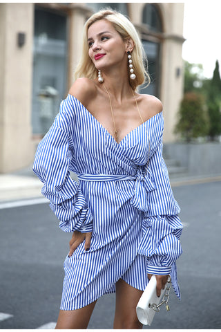 Blouse Like Off Shoulder Dress