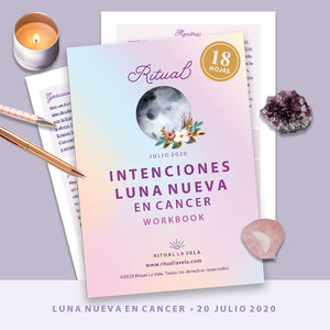 Ritual Luna Nueva en Cancer Workbook