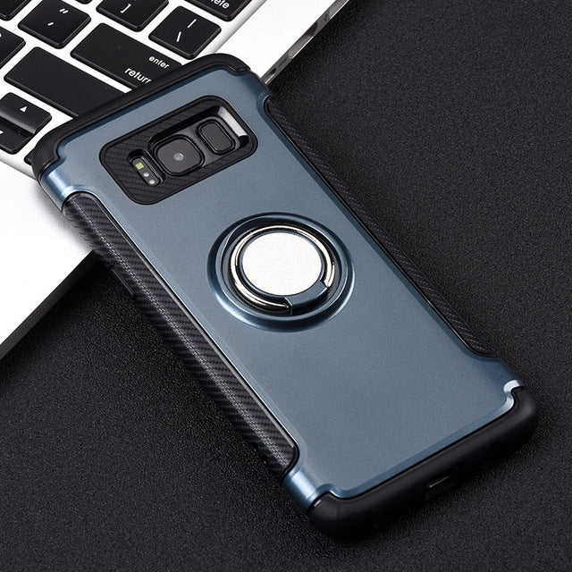 Magnetic Ring Holder Galaxy Case