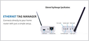Ethernet Tag Manager - Wireless Sensor - Australia and New Zealand
