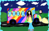 Miss Wisherley's Bus Adventures: Don't Judge a Book by its Cover (Volume 1) (Written and illustrated by Nichole A Cole)