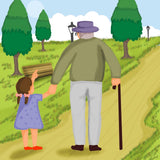 Grandpa Moon (Written by Cindi H. Goodeaux; Illustrated by Sanghamitra Dasgupta)