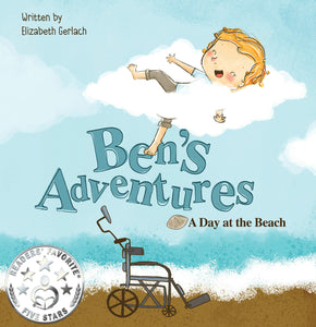 Ben's Adventures: Day at the Beach (Written by Elizabeth Gerlach; Illustrated by Yip Jar Design)