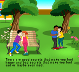 No More Bad Secrets (Written by Daisy Copelin; Illustrated by Ambadi Kumar)