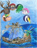 Wex's Wacky Adventure to Koma Keone Island (Written and illustrated by Michael Joffroy)