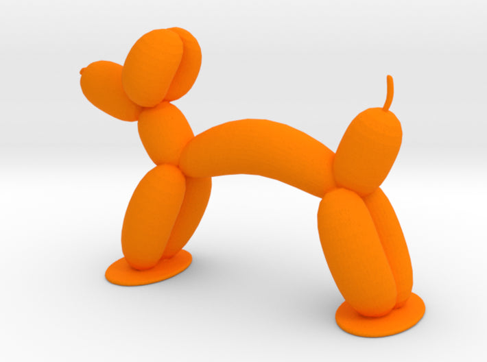 Balloon Animal Dog 3d printed