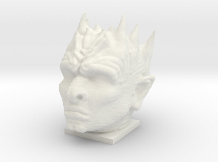 Night King - Game of Thrones - White Walker Bust 3d printed