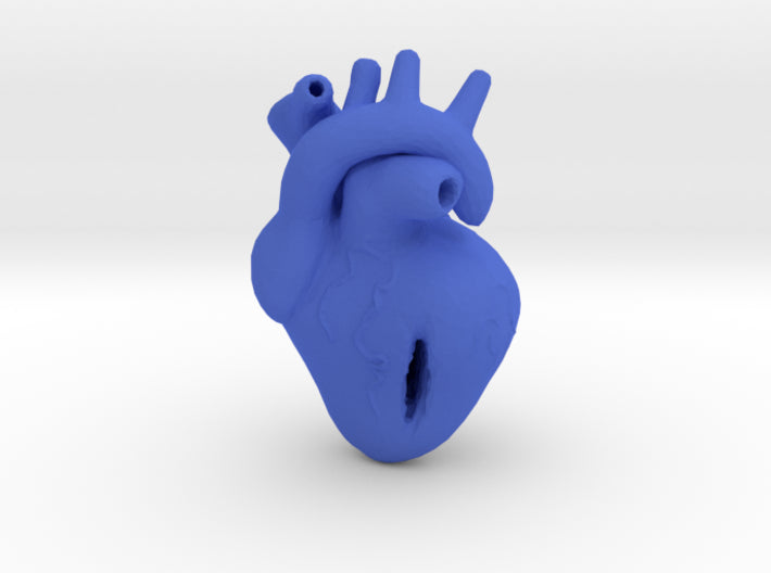 Damaged Heart 3d printed
