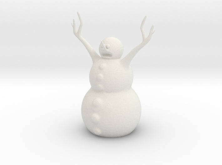 Snow Man 3d printed