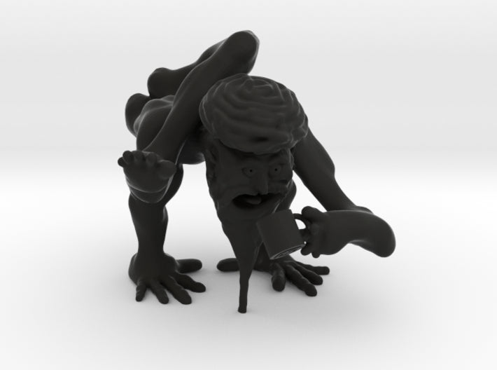 Coffee Yogi 3d printed