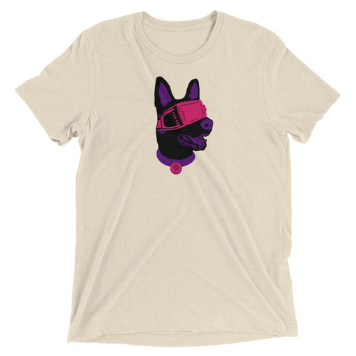 VR German Shepard  t-shirt