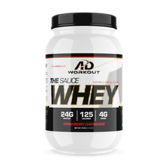 The Sauce Whey Protein - 2 Lbs. (25 Servings) - AD Workout