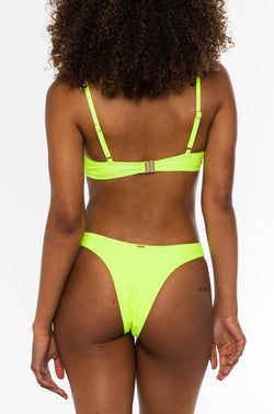 Jasmine bottom / neon yellow
