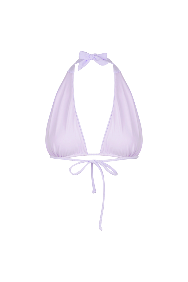 Jocelyn Top / Lilac Lollipop Ribbed