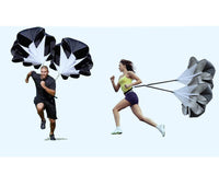 Speed Sports Strength Training Parachute Running Chute Soccer Basketball Football Training Equipment Resistance Bands XNC