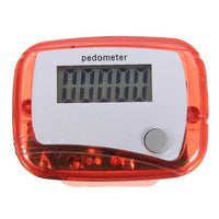 New Long-life battery Multifunction New Fitness New Portable Multi-colors LCD Pedometer Step Counter from 0 to 9999