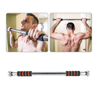 Steel Horizontal Bar for Home Door Training Bar Exercise Workout Adjustable Chin Pull Up Bar Sport Fitness Equipment XNC
