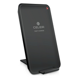 Celeir Qi Fast Wireless Charger Pad Stand with 2 Coils 10W, Universal Air Vent Cell Phone Holder