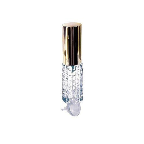 1 Mini Crystal Purse Travel Atomizer W/funnel-Assorted Styles