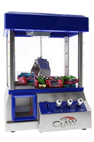 The Toy Grabber Claw Machine For Kids – Electronic Arcade-Style Game for Kids and Parties – Ideal For Use With Small Toys / Candy – Features LED Lights and Loud Sound Effects, 13.5 x 10 x 7.5 inches