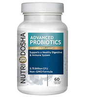 #1 Advanced Probiotics Happy Bacteria Supplement Blend of the 7 Best Strains. Builds Healthy Digestion & Maintains Strong Immune System Non GMO Vegan Friendly...